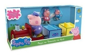 Peppa Pig - Peppa No Trenzinho Do Vovô 4857 - Dtc