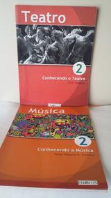 Kit Com 2 Livros De Música E Teatro - Editora Enovus