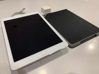 Apple iPad Air 32 Gb Silver Impecable Film + Funda Logitech