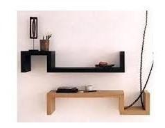 .::estante Repisa Flotante Invisible Melamina - Modulo- S::.