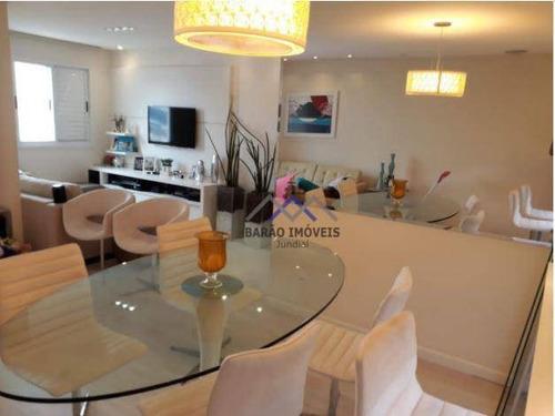 Imagem 1 de 12 de Apartamento Com 2 Dormitórios À Venda, 83 M² Por R$ 530.000,00 - Vila Das Hortências - Jundiaí/sp - Ap1854