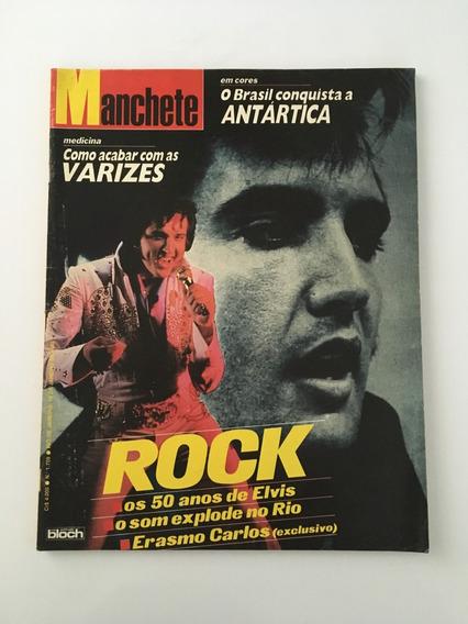 Revista Manchete 50 Anos Elvis - 19 Janeiro 1985 Nº 1709