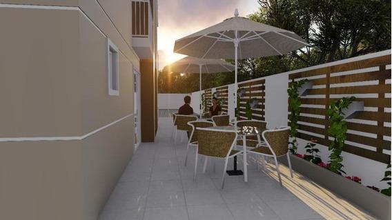 Apartamento Para Venda Em Guarapuava, São Cristovão, 2 Dormitórios, 1 Banheiro, 1 Vaga - _2-880421