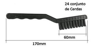 Escova 60mm Anti Estática Esd Limpeza Notebook Game Celular