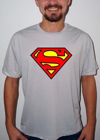 Camiseta Ou Baby Super Men Logo