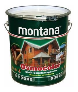 Verniz Osmocolor Madeira Castanho Uv Deck 18 Litros Montana