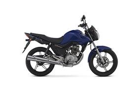 Honda New Cg Titan 150 Cc 0km - Azul - Expomoto Sa