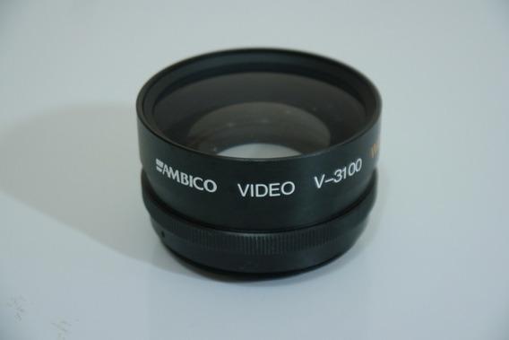 Lente Ambico V-3100 Grande Angular 0,5x Rosca 46mm