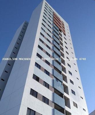 Apartamento Para Venda Em Mossoró, Centro/mossoró - Carpe Diem, 3 Dormitórios, 1 Suíte, 2 Banheiros, 2 Vagas - Ap1018-carpe Diem