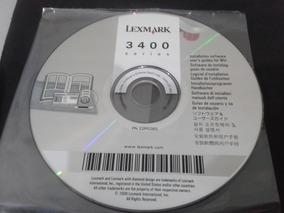 Software : Multifuncional Lexmark 3400 Séries# Muito Novo