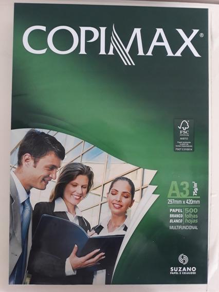 Resma A3-branco Copimax 297mmx420mm