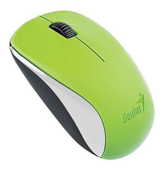 Mouse inalámbrico Genius NX-7000 spring green