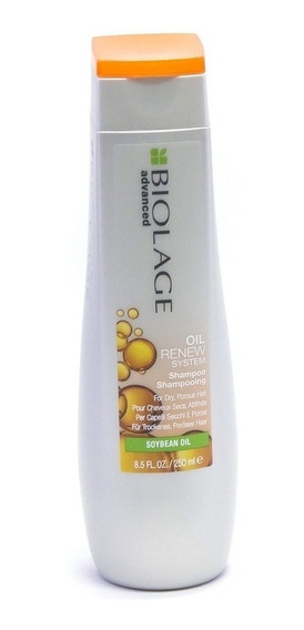 Shampoo Oil Renew X250ml Biolage Matrix Loreal Anti Frizz