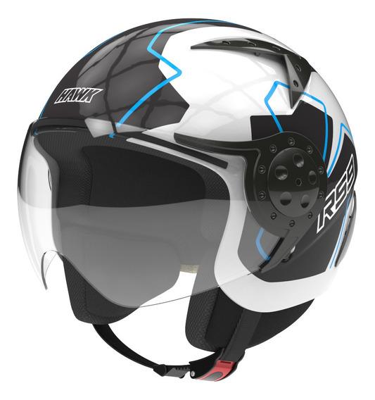 Casco Moto Hawk Rs9 Abierto Speedbuster Visor Oficial
