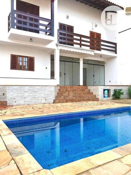 Casa Com 4 Dormitórios Para Alugar, 214 M² Por R$ 3.000,00/mês - Jardim Planalto - Vinhedo/sp - Ca3487