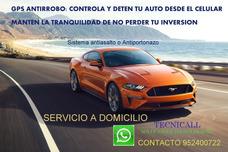 Servicio Instalación Gps Antiportonazo Cortacorrient Temuco