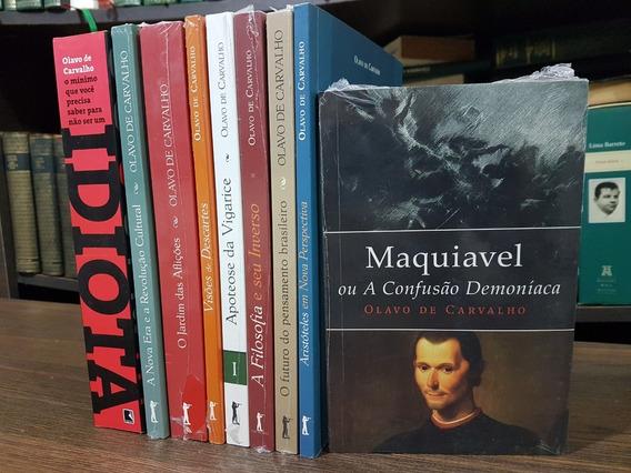 Lote 9 Livros De Olavo De Carvalho