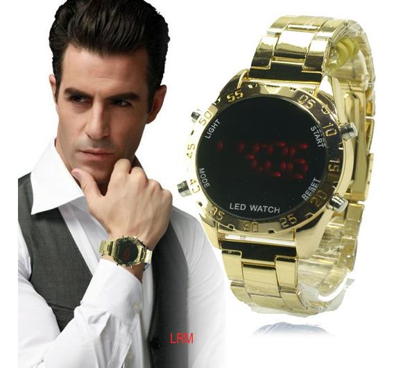 Relógio De Pulso Unissex Digital Led Watch Oferta.