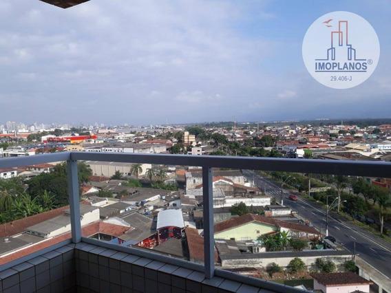Apartamento Com 2 Dormitórios À Venda, 55 M² Por R$ 221.000,00 - Tude Bastos (sítio Do Campo) - Praia Grande/sp - Ap10766