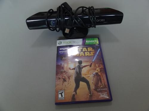 Kinect Xbox 360 Original (usado) + Jogo Star Wars Kinect