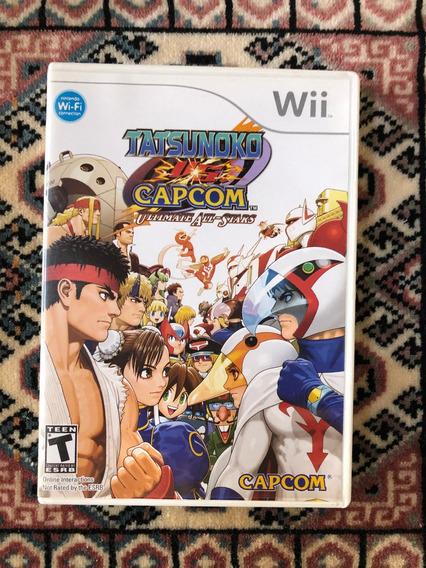 Tatsunoko Vs Capcom P/ Wii E Wiiu - Original E Americano