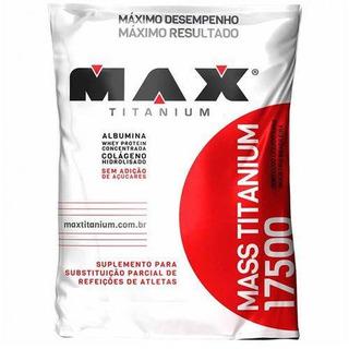 Hipercalórico Mass Max Titanium Refil 1,4 Kg Baunilha
