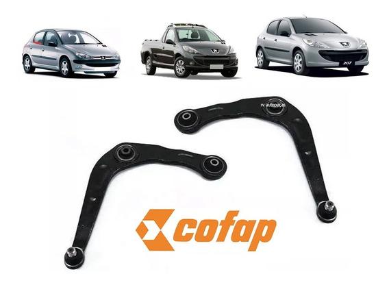Par 2 Bandeja Peugeot 207 206 Hoggar Cofap Original