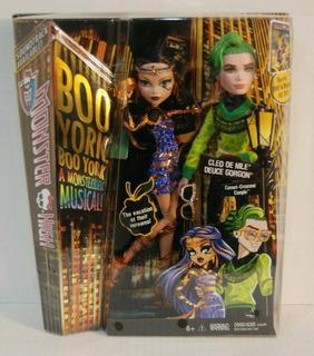 Monster High, Boo New York, Cleo De Nile Y Deuce Gorgon, 20