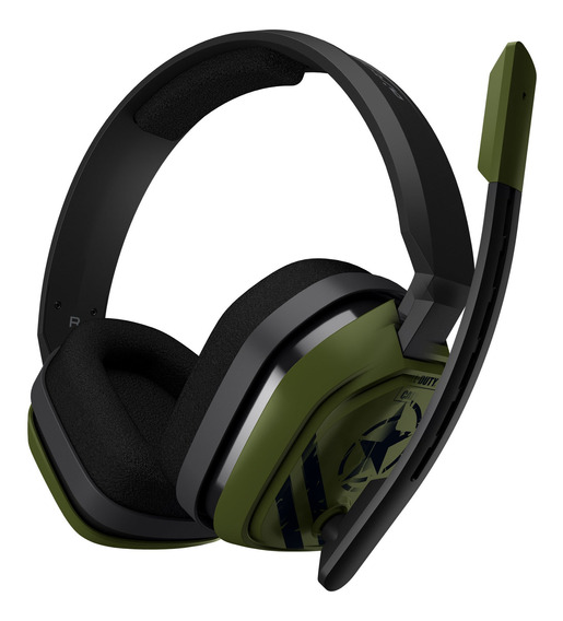 Headset Logitech Astro Gaming A10 Call Of Duty Edition P/ Pc / Mac / Xbox One / Playstation® 4 / Mobile - Oferta!