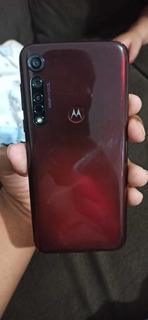 Celular Moto G8 Plus, 64gb E 4 De Ram, Na Cor Cereja!!