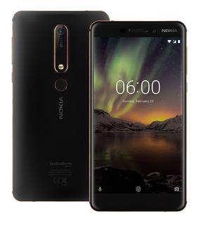 Nokia 6 2018 Ta-1068 4gb Ram 64gb Dual Sim Nuevo A Pedido