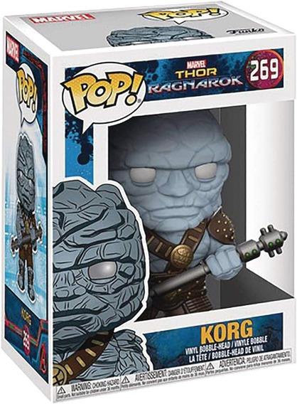 Funko Pop 269 Korg - Thor Ragnarok Marvel