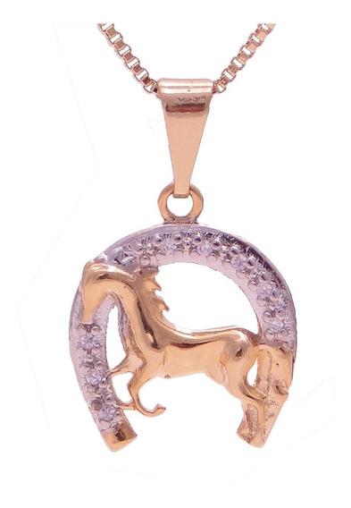 Promoção Colar Cordão De Cavalo E Ferradura Feminino