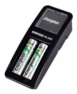 Cargador De Pilas Aa Y Aaa C/ 2 Pilas Aa 1300mah Energizer