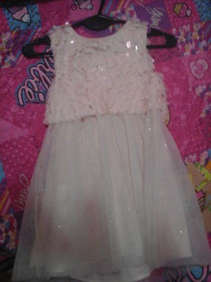 Vestido Para Nena Talla 7 (zara)