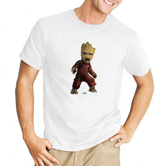 Remera I Am Groot Avengers Vengadores Arbol 5