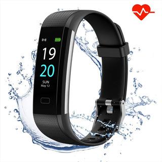 Smartband Watch Reloj Inteligente Ritmo Cardiaco Fitness Tracker Resistente Al Agua