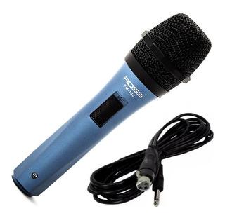 Microfono Fm138 Para Cantante Karaoke Con Cable Cuotas
