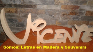 Cumpleaños Centro De Mesa Letras Decorativas Envios !!!!!
