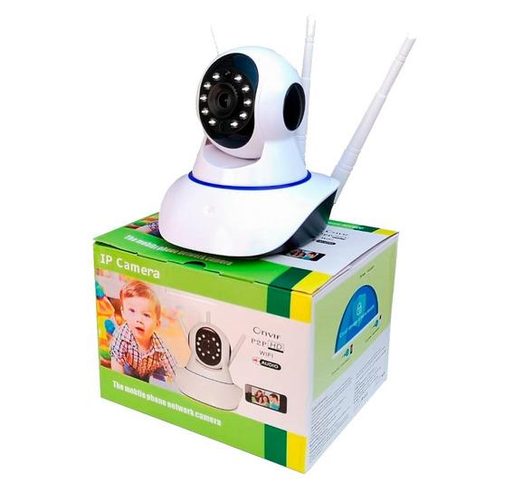 Camera Robo 3 Antenas Ip Wifi 360 Sistema Yoosee/yyp2p