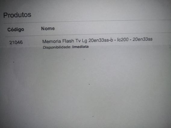 Memoria Flash Monitor LG 20en33ss-b Ic200 - 20en33ss