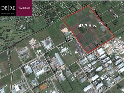 Venta Terreno 43,7 Has Parque Industrial Pilar