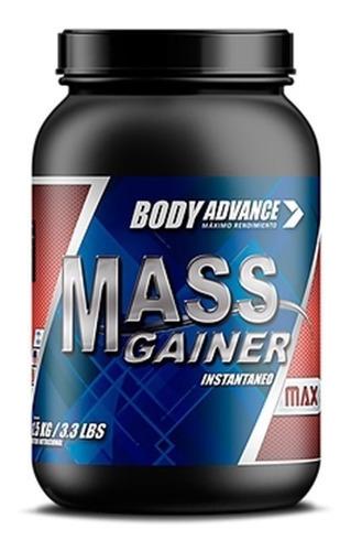 Mass Gainer 1,5 Kg. Ganador De Peso. Body Advance