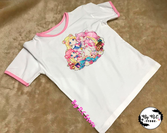 Remera Sailor Moon Anime Diseños Originales