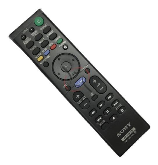 Controle Remoto Rmt-ah240u Soundbar Sony Ht-nt5 Novo C/nf