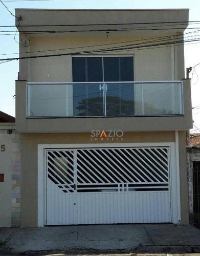 Imagem 1 de 10 de Sobrado Residencial À Venda, Jardim Residencial Das Palmeiras, Rio Claro. - So0018