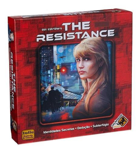 Imagem 1 de 4 de The Resistance Board Game Tabuleiro Lacrado Galápagos Jogos