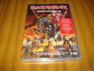 Dvd Iron Maiden / Maiden England 88 (nuevo Y Sellado) 2 Dvd