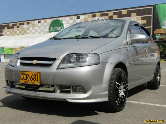Chevrolet Aveo Sl 1.4 Aa Ab Abs Mt