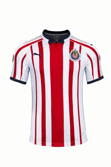 Puma Playera Chivas Para Hombre Blanca 703881 01